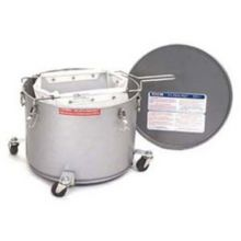 Miroil® 40LC 35 Lb. Grease Bucket / Filter Pot With Casters