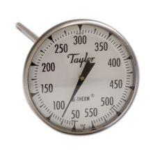 Taylor Precision 6220J Bi-Therm® 0 - 500°F Dial Thermometer