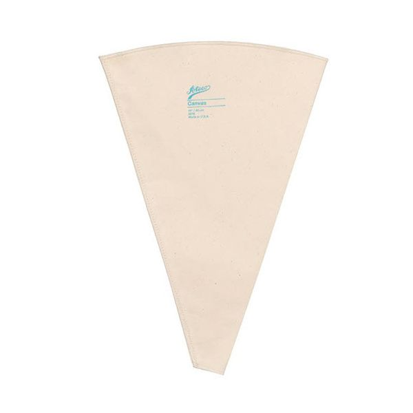 "Ateco 3210 10"" Canvas Pastry Decorating Bag"