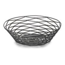 """TableCraft® BK17508 Artisan Collection Black 8"""" Metal Basket"""