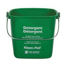 San Jamar® KP97GN Kleen-Pail® 3 Quart Green Detergent Pail