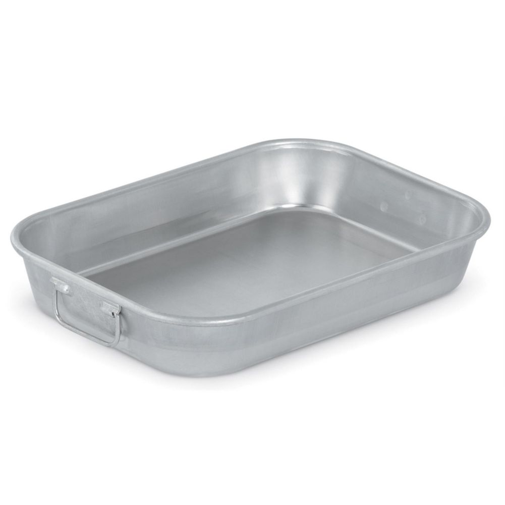 Vollrath® 4412 Wear-Ever® 4.5 Quart Handled Aluminum Bake Pan