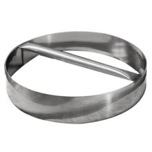 "American Metalcraft RDC6 S/S 6"" x 3""H Dough Cutting Ring"