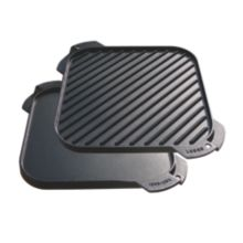 Lodge® LSRG3 Single Burner Reversible Cast Iron Grill / Griddle