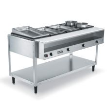 Vollrath 38004 ServeWell® 4-Well S/S 61 x 32 x 34 Hot Food Table