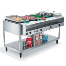 Vollrath 38005 ServeWell® 5-Well S/S 76 x 32 x 34 Hot Food Table