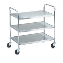 Vollrath® 97105 Money Saver Knockdown S/S 3-Shelf Cart