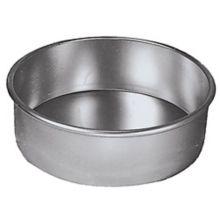 "American Metalcraft 3810 Round 10"" Aluminum Cake Pan"