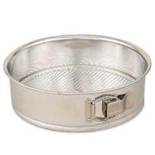 "Browne Foodservice 746075 Polished Tin 11"" Spring Form Cake Pan"