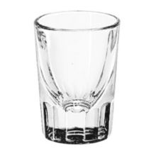 Libbey® 5135 Fluted 1.25 Ounce Whiskey Glass - Dozen