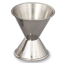 Browne Foodservice 1290 0.5 x 1 Oz. Stainless Steel Jigger