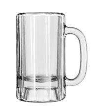 Libbey® 5018 Clear 14 Ounce Paneled Mug - 12 / CS
