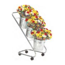 FMS BD3 Black 3-Tier Mobile Bouquet Display Stand