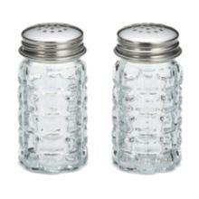 TableCraft 163S&P-2 Nostalgia Salt and Pepper Shakers - Dozen
