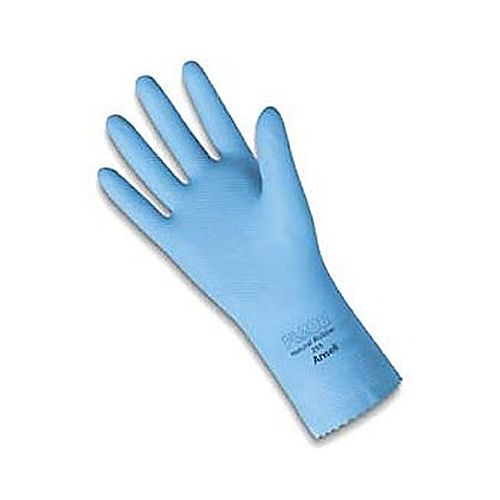 Ansell Sky Blue Small Rubber Latex Glove - Pair