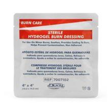 """Afassco® 38001 Medi-Burn 4"""" x 4"""" Pad"""