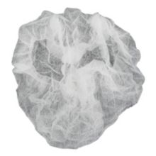 "Cellucap® BI4D White 21"" Pleated Bouffant Cap - 1000 / CS"