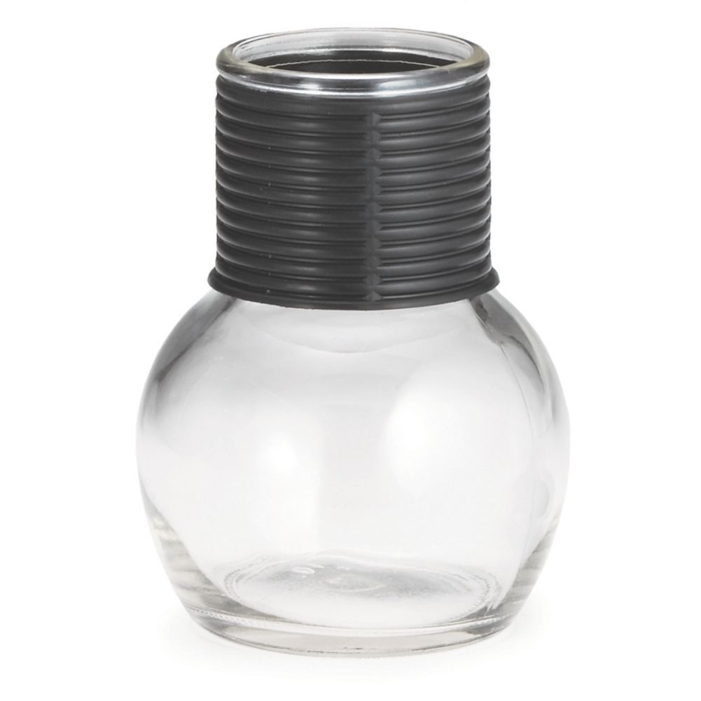TableCraft® B3650X Glass 10 Oz. Hottle with Black Band - 24 / CS
