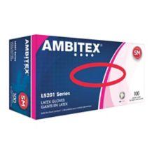 Tradex L5201-SM Ambitex Small Powder-Free Latex Gloves - 100 / BX