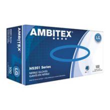 Tradex N5201-LG Ambitex Large Powder-Free Nitrile Gloves - 1000 / CS
