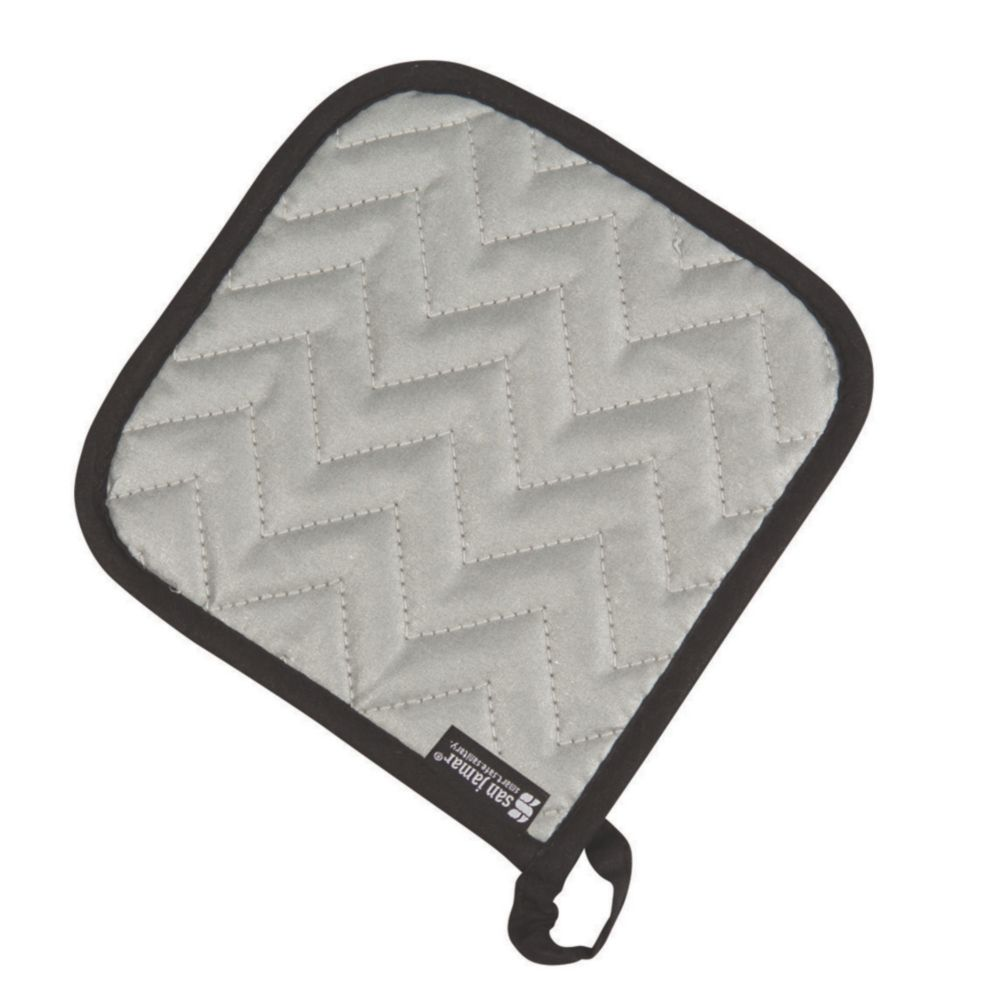 "San Jamar® 802SPH Silicone 7"" Pot Holder"