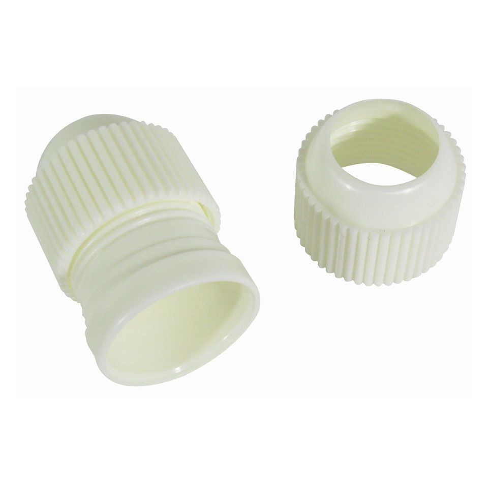 Ateco 402 Medium 3-Piece Coupling Set for Pastry Bag