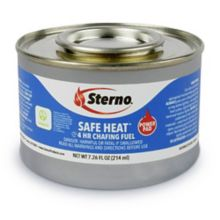 Sterno Products® 10114 Safe Heat 4 Hour Chafing Fuel - 24 / CS