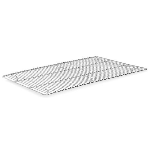 "Metro® 6703R Nickel-Plated 24-1/2""L Welded Mesh Icing Grate"