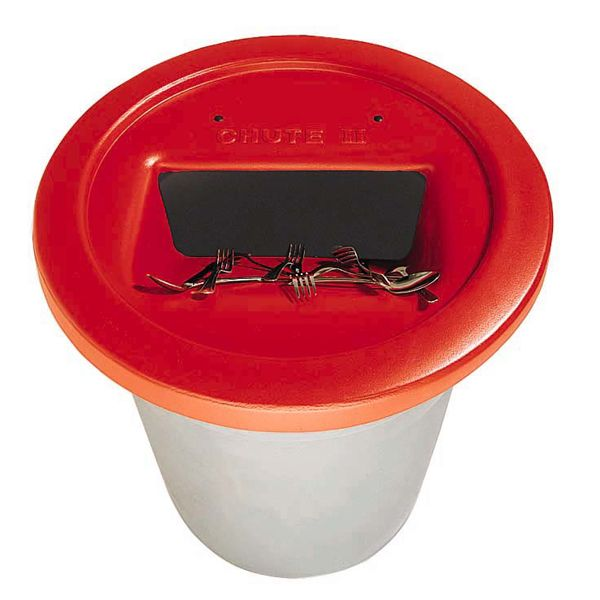 Golden West 3750 The Chute Red Flatware Trap For 32/44 Gal. Containers