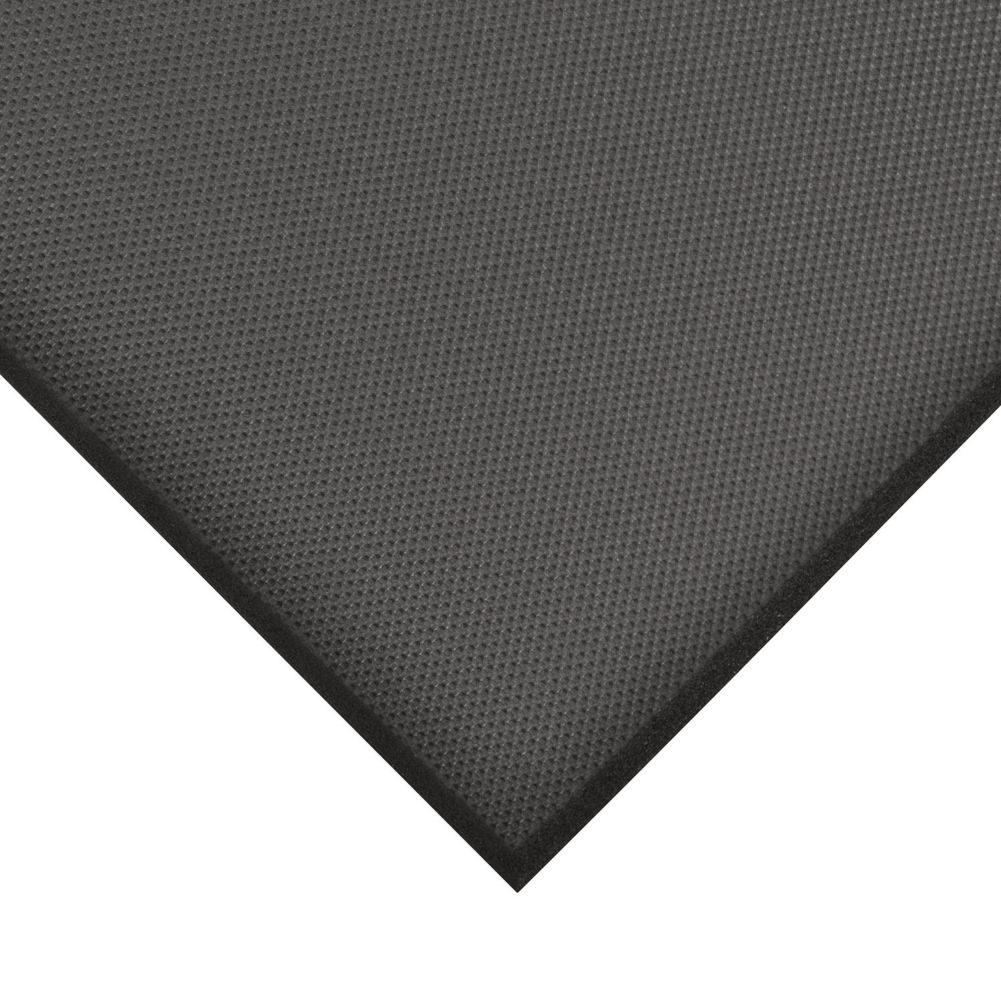NoTrax 065-547 Black Anti-Fatigue 3' x 2' Superfoam® Floor Mat