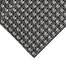 Notrax 435-719 Black 3' x 3' Tek-Tough® Floor Mat