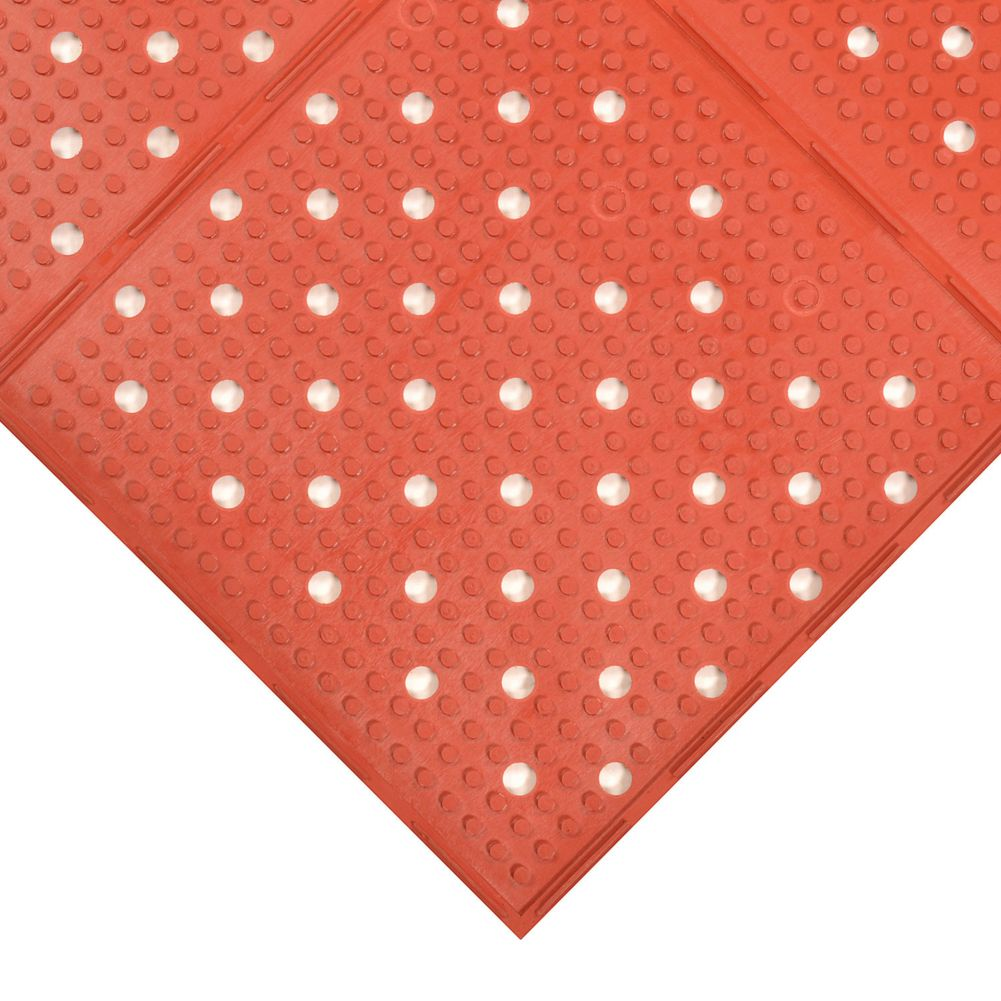 Notrax 416-230 Red 3' x 8' Multi-Mat II® Floor Mat
