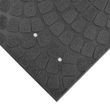 Notrax 753-601 Black 3' x 4' Grip True® Floor Mat