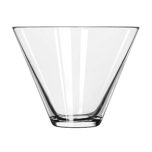 Libbey® 224 Stemless 13.5 Ounce Martini Glass - 12 / CS