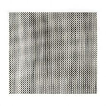 "FOH® XPM042SIV83 Silver 13"" x 14"" Basketweave Placemat"