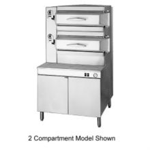 Cleveland Range PGM3003 Gas Pressure Steamer with 3 Compartments