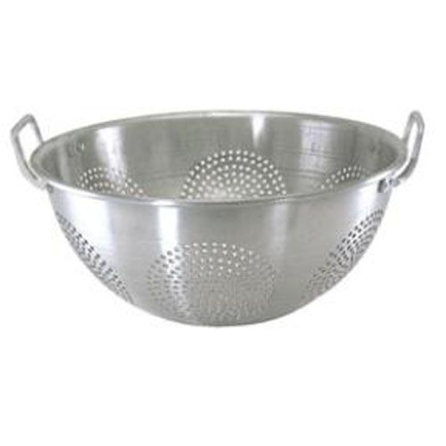 Update International ACO-16CH 16 Qt. Chinese Colander with Handles