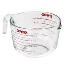 Pyrex® 6001072 Prepware Clear Glass 8-Cup Mix N Measure Cup