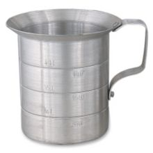 Browne Foodservice 575650 Aluminum 1 Qt. Liquid Measuring Cup