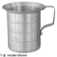 Browne Foodservice 575670 Aluminum 4 Qt. Liquid Measuring Cup