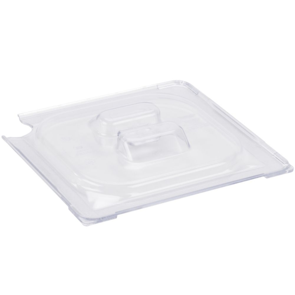 Vollrath® 32600 Clear 1/6 Size Low Temp Slotted Plastic Pan Cover
