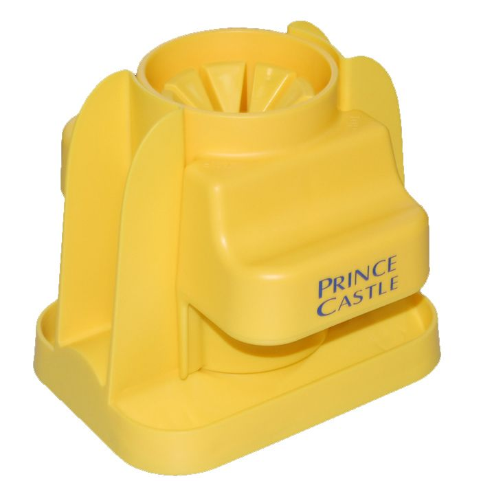 Prince Castle CW-6 Yellow Citrus Saber 8-Section Fruit Wedger