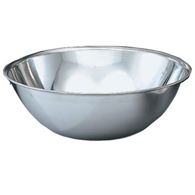 Vollrath 47949 Bright Mirror Finish S/S Economy 20 Quart Mixing Bowl