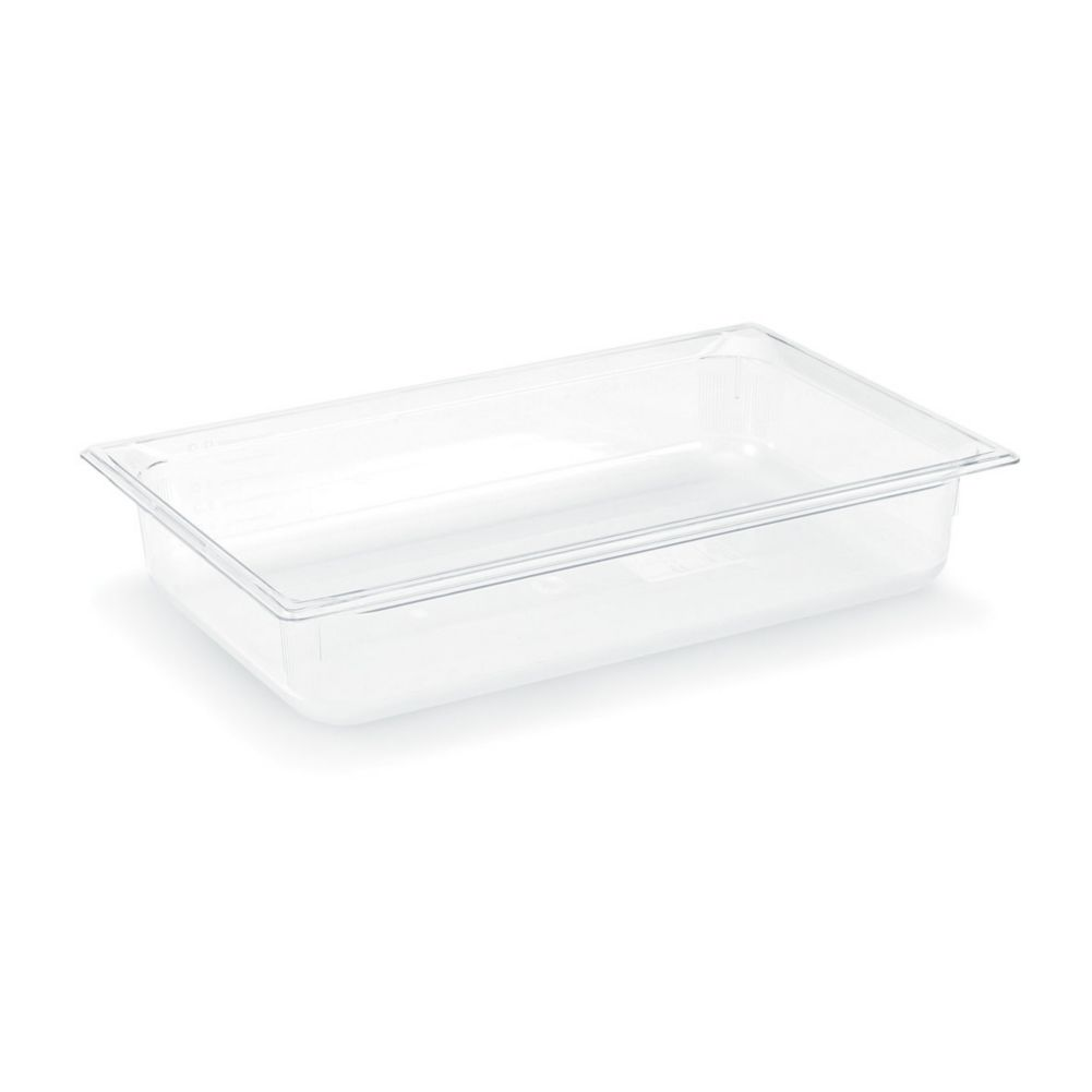 "Vollrath 8008410 Clear Full Size x 8"" D Low Temp Food Pan"
