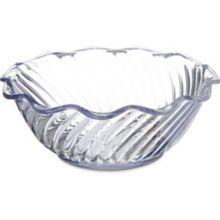 Carlisle® 453307 13 Oz. Clear Tulip Bowl - 24 / CS