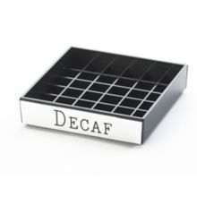 "Cal-Mil 632-2 Square 4"" ""Decaf"" Spigot Drip Tray"