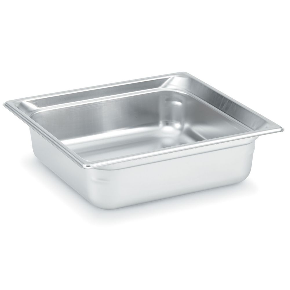 "Vollrath 90222 Super Pan 3® S/S Half Size x 2.5"" D Food Pan"
