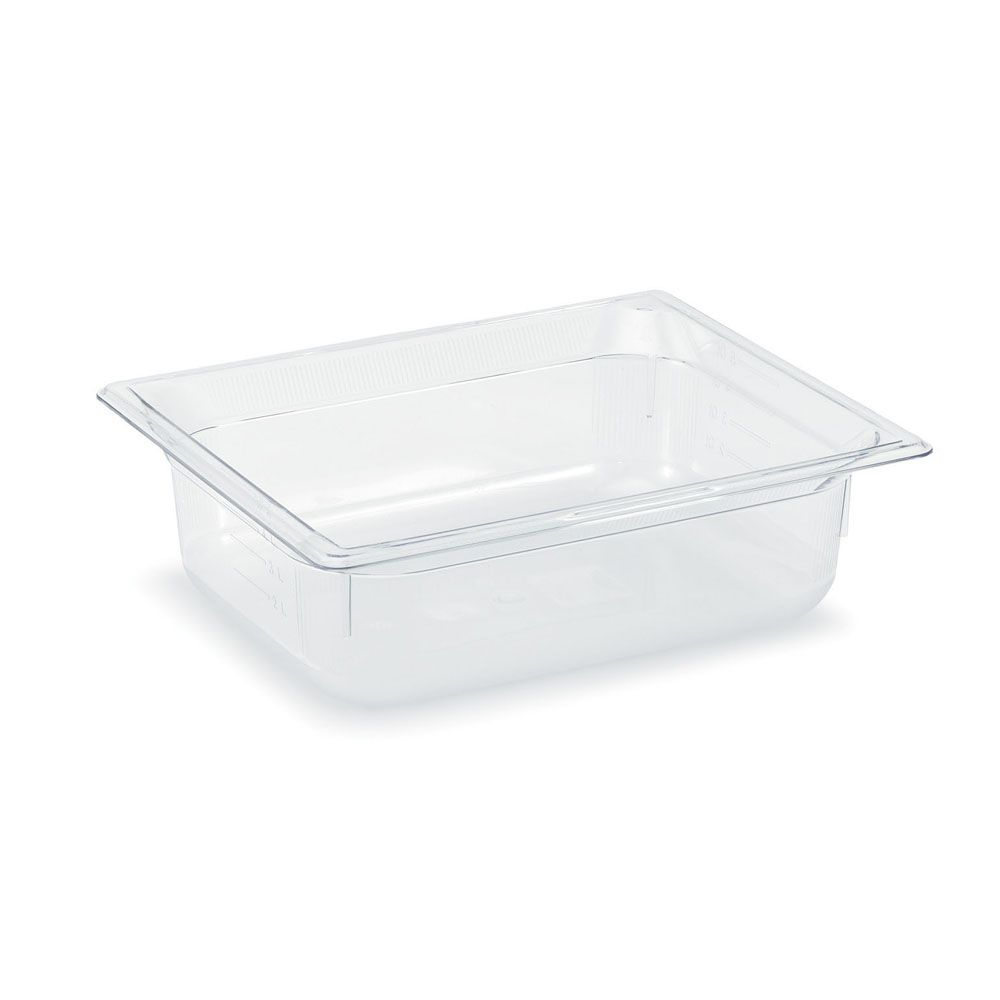 "Vollrath 8024410 Clear Half Size x 4"" D Low Temp Food Pan"