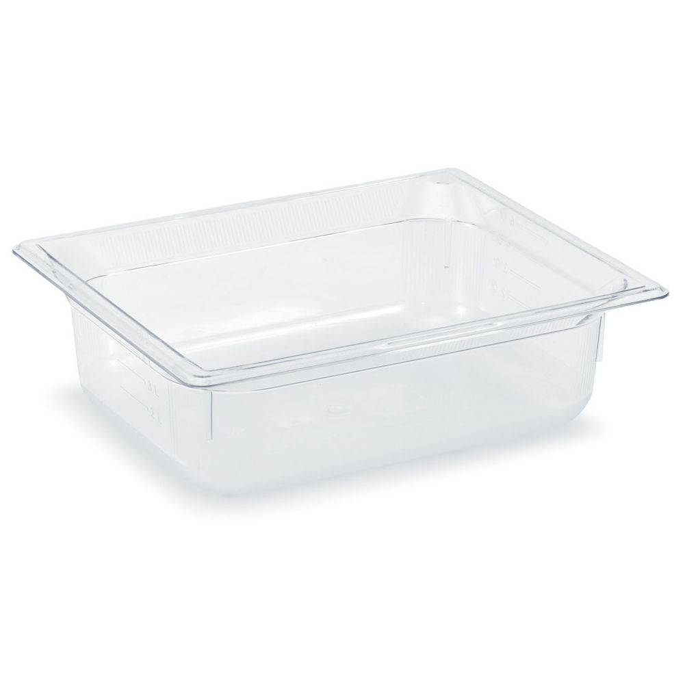 "Vollrath 8026410 Clear Half Size x 6"" D Low Temp Food Pan"