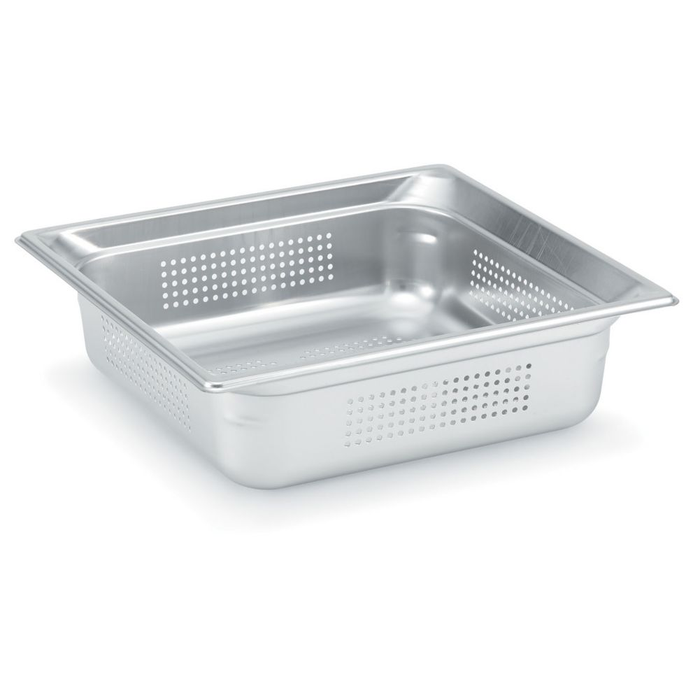 "Vollrath 90213 Super Pan 3 Half Size x 1.5"" D Perforated Food Pan"